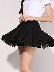 Women's Solid Blue / Pink / Black / Gray Skirts,Sexy / Simple Mini