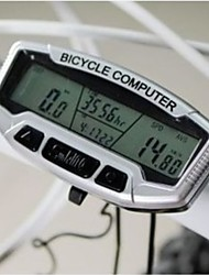 Waterproof  Cycling Computer Bicycle Speedometer Odometer Digital LCD Backlight Bicycle Bike Computer SD-558A
