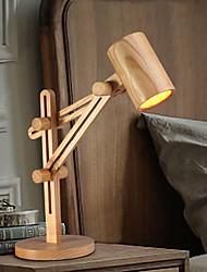Учебные лампы-Дуговые торшеры / Защита глаз-Традиционный/классический-Дерево/бамбук