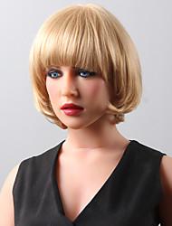 onda sem tampa curto super corpo destaca perucas de cabelo humano 8 cores para escolher