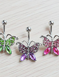 Body Jewelry/Navel Rings/Belly Piercing Crystal Others Unique Design Fashion Red 1pc