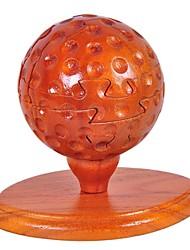 3D - Puzzle / Holzpuzzle Für Geschenk Bausteine Model & Building Toy Golf Holz Vor 6 Rot Spielzeuge