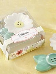 Blossom Keramik Salz-und Pfefferstreuer