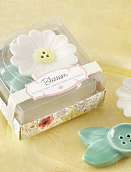 Blossom Cerámica Sal y Pimienta Shakers