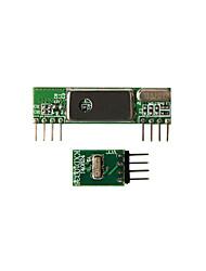 geeetech superheterodyne 3400 wirelesss kit émetteur récepteur + 433mhz rf
