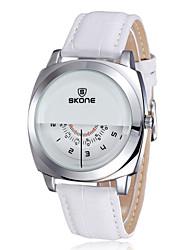 SKONE ® Women's Watch Fashion PU Leather Band Wrist Watch Quartz Movement Waterproof Watches for ladies Cool Watches Unique Watches