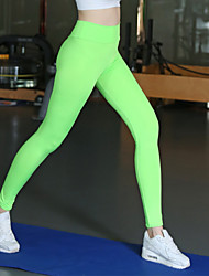 Women Solid Color Legging,Spandex Medium