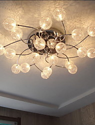 Simple Circular Ceiling lamps Iron Bedroom lamp Personality Hallway Restaurant lighting