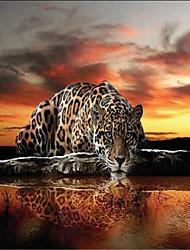 "(9'8 ""x 8'2"" ft)Photo Wallpaper High Quality  Leopard Silk   Living Room Sofa Bedroom Tv Backdrop Wallpaper Mural"