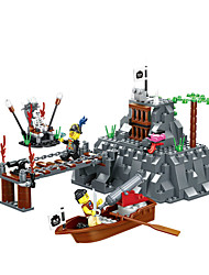 Bau des neuen dr wan, le der Piraten-Serie 30041 Bildungs-Spielzeug für Kinder