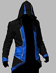 Inspiré par Assassin Conner Manga Costumes de Cosplay Cosplay à Capuche Mosaïque Imprimé Manches Longues Haut Pour Unisexe