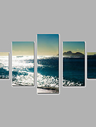 Landscape Canvas Print More than Five Panels Ready to Hang,Any Shape(No Frame)