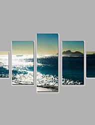 Пейзаж Холст для печати более 5 панелей Готовы повесить,Любые формы