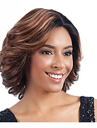 Hot Style Mixed Color Synthetic Top Quality Curly Wigs