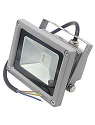 10W Focos LED 1 LED Integrado 1000LM lm RGB Control Remoto Decorativa Impermeable DC 12 V 1 pieza