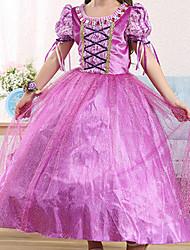 Girl's Cotton Summer Sophia Princess Style Lace Dress