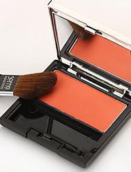 Soffio Rouge Blush Natural Lasting Stereo Repair Capacity Powder Makeup Nude Orange Pink Matt
