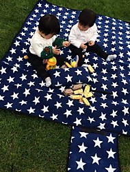 Waterproof Moistureproof Outdoor Beach Picnic Camping Mat Multiplayer Foldable Baby Climb Plaid Blanket 130cm*170cm