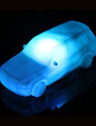 творческий изменения цвета акриловый красочный автомобиль водить ночью свет маленький фонарь украшение дома
