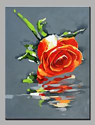 pintura a óleo moderna mão puro abstrato desenhar sem moldura óleo de flores decorativas pintura das rosas