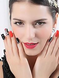 rose autocollant pvc métallique belle bijoux à ongles