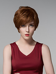 Short Curly And Fluffy European Hair Remy Hand Tied-Top Capless Hair Wigs