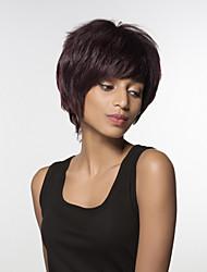 Mechas virgem humana mão amarrada-top perucas mulher sem tampa ondulado ligeiramente textura