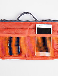 Women's Fashion Makeup Storage Casual Multifunctional Mesh Cosmetic Makeup Bag Storage Tote Organizer(7 Color Choose)