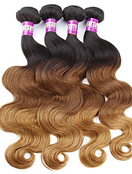 4 Pieces Body Wave Human Hair Weaves Malaysian Texture Human Hair Weaves Body Wave