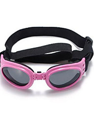 Cat / Dog Sunglasses Red / Black / White / Pink / Yellow Summer / Spring/Fall Waterproof