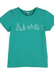 Jungen T-Shirt - Baumwolle Geometrisch Sommer