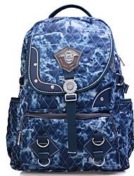Unissex Lona Esporte / Casual / Ao Ar Livre Mochila / Bolsa de Esporte & Lazer / Bolsa Para Notebook / Mochila Escolar / Mala de Viagem