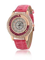 Women's Fashion New Luxury Double Rhinestone Watch Quartz Wrist Watch Cool Watches Unique Watches