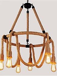 40W Lampe suspendue ,  Rustique Autres Fonctionnalité for Designers MétalSalle de séjour / Chambre à coucher / Salle à manger /