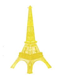 Puzzles 3D-Puzzles / Kristall-Puzzle Bausteine DIY Spielzeug Berühmte Gebäude ABS Gold Model & Building Toy