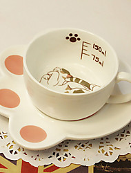 Lovely Brown  Cat Coffee Mug Cup