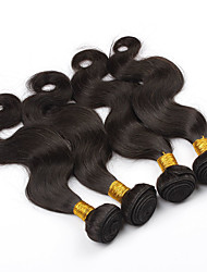 "3Pcs Lot 8""-28"" Malaysian Body Wave Virgin Human Hair Extensions/Weave Bundles Natural Color Tangle Free"