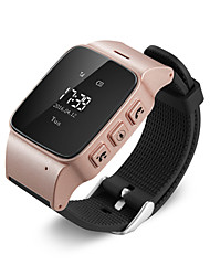 GPS Tracker Watch Bracelet for Elderly Mobile App Google Map Call Button Take-off alarm GSM GPRS Tracker