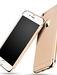 Luxury Electroplate Metal Coating 3 in 1 Protective Back Cover Hard Apple iPhone Case for iPhone 6S/6