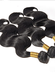 Natural Color Hair Weaves Peruvian Texture Body Wave 3 Pieces hair weaves