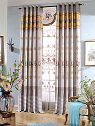 2016  simple modern style window curtain for living leaves embroidery curtain and sheer curtain fabric no valance