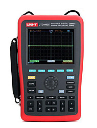 uni-t utd1062c vermelho por osciloscópios de bancada