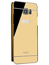 téléphone mobile shell protection cadre manchon métallique samsung galaxy note5
