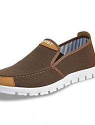 Men's Shoes Fabric Outdoor Loafers Outdoor Blue / Brown / Gray