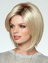 Women's Fashion Short BoBo Hair Blonde Color Hot Sale.