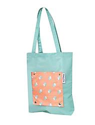 saco impermeável dobrável armazenamento de roupas de viagem bolsa
