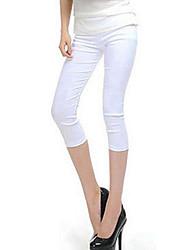 Damen Legging - Bedruckt / Jeans Polyester Dünn