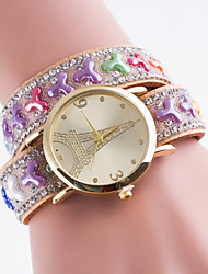 Women's European Style New Fashion Retro Tower Wrapped Bracelet Watch Cool Watches Unique Watches