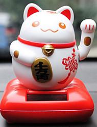 chat poupées de décoration de voiture