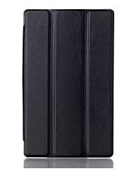 cubierta cse soporte imán para lenovo pestaña 3 7.0 710 TAB3 esencial 710F funda protectora cubierta de cuero de la PU